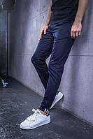 Мужские классические легкие брюки BEZET classic '18, мужские весенние брюки, синие мужские классические брюки, фото 1