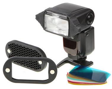 Стільниковий насадка на спалах з набором світлофільтрів на магніті від бренду Selens (аналог MagMod, Micnova)