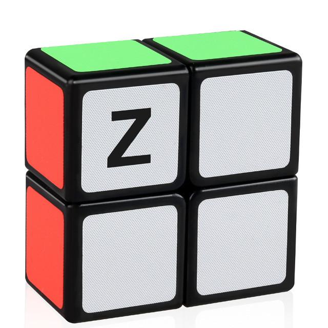 Кубик головоломка кубоід Z-cube 2x2x1, чорний пластик
