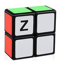 Кубик головоломка кубоід Z-cube 2x2x1, чорний пластик, фото 1