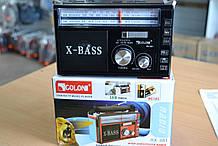 Радиоприемник GOLON RX-381 от сети USB SD радио с фонарем