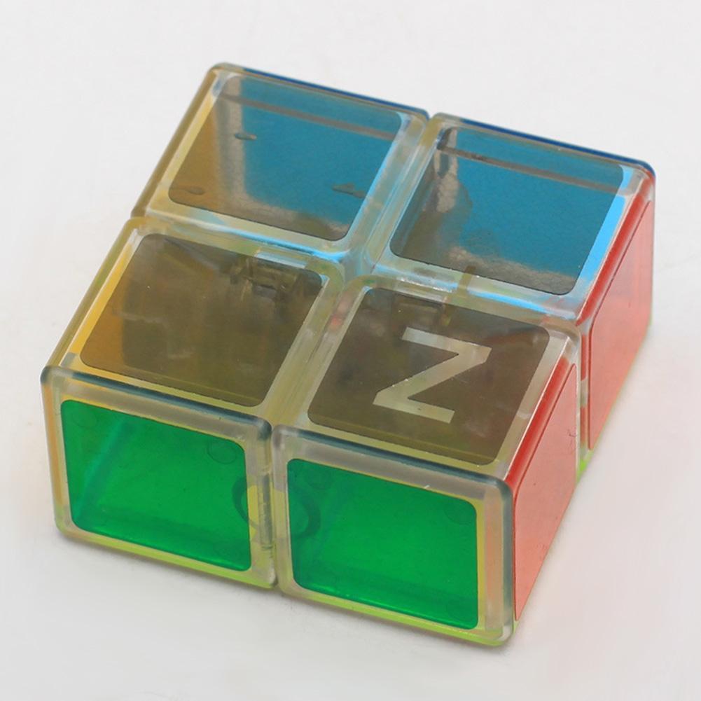 Кубик головоломка кубоід Z-cube 2x2x1, прозорий пластик