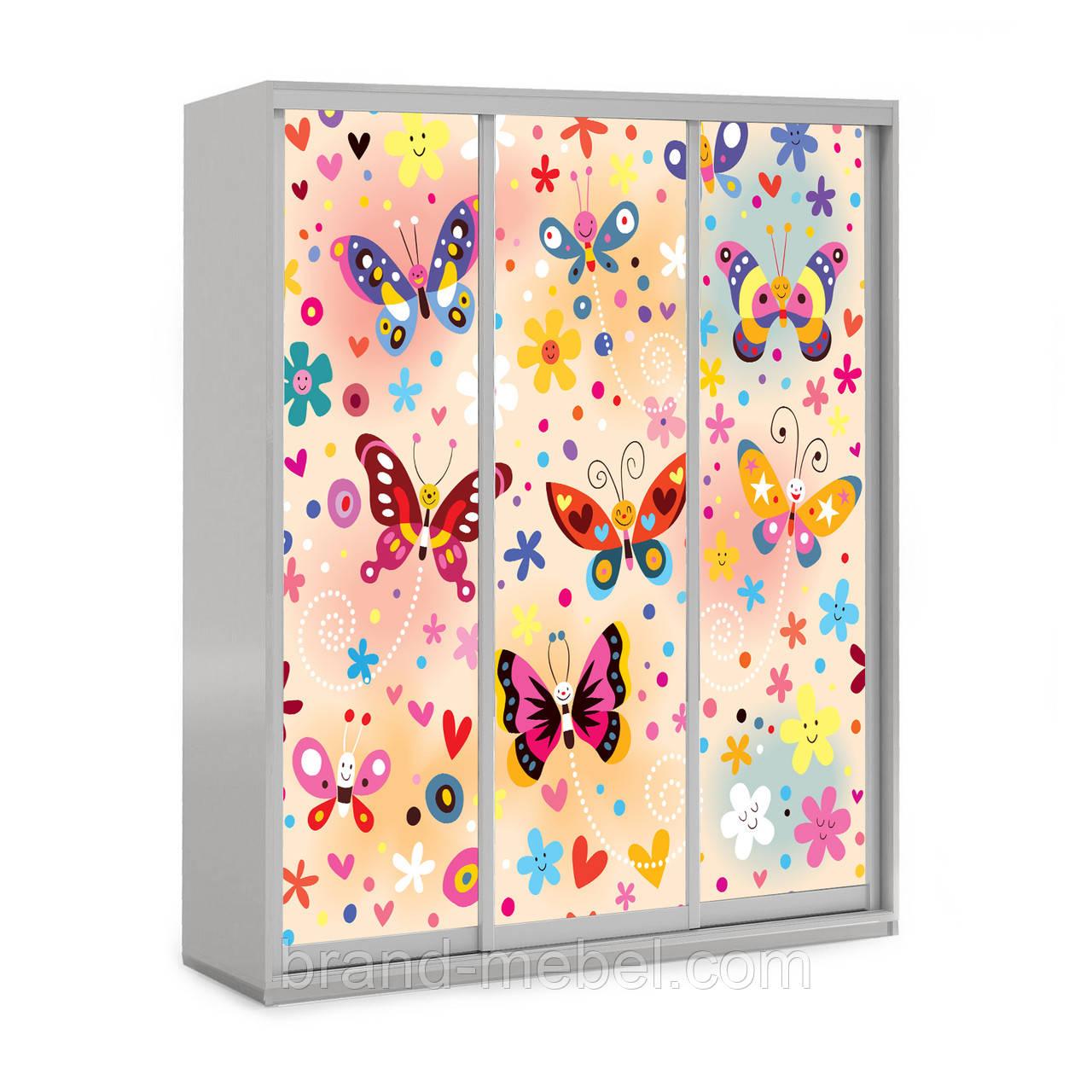 Детский шкаф-купе Бабочки