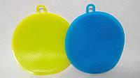 Набор силиконовых губок для мытья посуды
