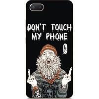 Бампер силиконовый чехол для Iphone 6 с рисунком Дед