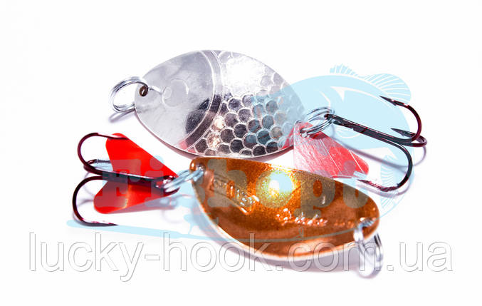 Блесна Spinnex Splake 12g (cupper/silver), фото 2