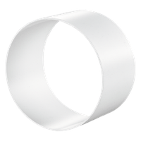 Соединитель круглых гибких каналов d100