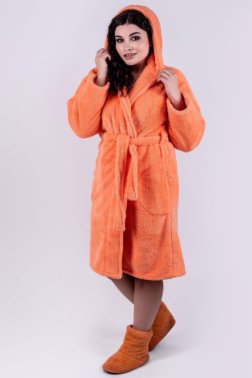 ecafc03e7be7c Я-Модна - купить Женский махровый халат с капюшоном Тилли, короткий ...