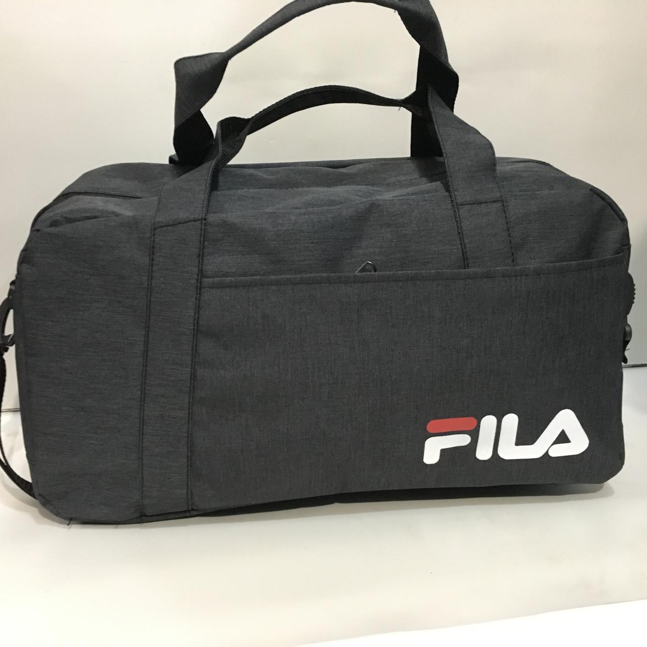 5bf56be3809e Большая спортивная сумка FILA с ремнем на плечо, дорожная сумка только оптом