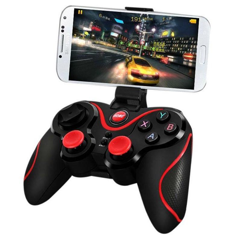 Беспроводной Bluetooth Джойстик Terios X3 для TV, PC iOS, Android - для смартфона, планшета, ТВ приставки, ПК
