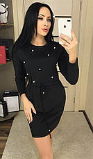 Платье с карманами на кулиске, фото 2