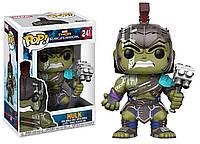 Фигурка Халк Марвел - 23213 Funko Pop Thor Ragnarok Hulk - Helmeted Gladiator #241