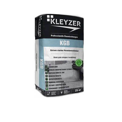 Клей для газобетона Kleyzer KGB, фото 2