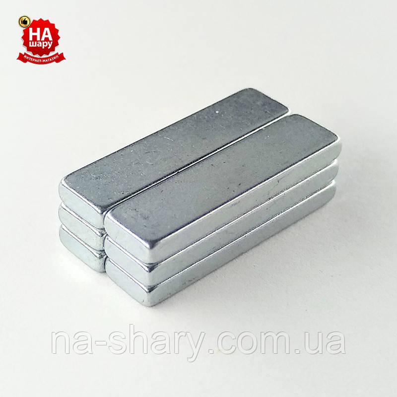 Магнит потайной для сумок 20мм*5мм*2мм. Магнит неодимовый для одежды (100шт)