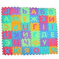 Коврик-пазл Мозайка Русский алфавит M 0378, КОД: 129189