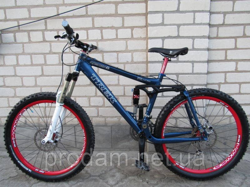 Двухпідвісний велосипед Trek (Shimano Deore XT, Rock-Shox