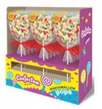 Жевательный зефир Confectum Marshmallow pops с ароматом  персика, 35 гр , фото 2