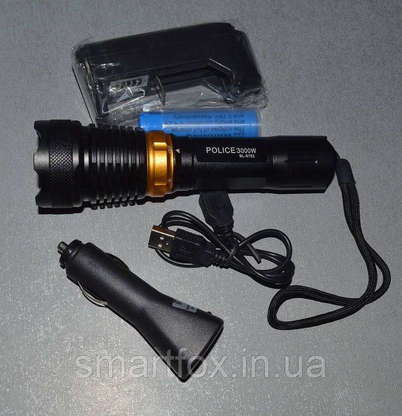 Фонарик подводный POLICE 8762 - Оптово-розничный интернет-магазин Smartfox.in.ua в Одессе