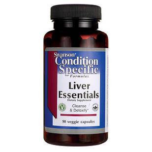 Поддержка печени Liver Essentials, Swanson, 90 капсул