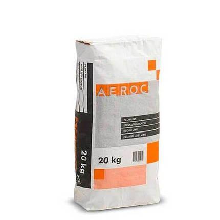 Клей для газобетона Aeroc серый, фото 2