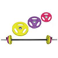 Штанга наборная для фитнеса FI-4247 20кг