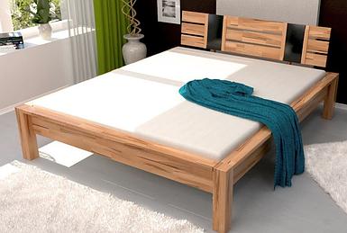 Кровать двуспальная B100 TM Mobler (В подарок тумба)