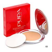 Пудра компактная PUPA Milano Silk Touch Compact №3