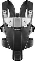 Рюкзак-кенгуру BabyBjorn Carrier Miracle (Black/Silver)