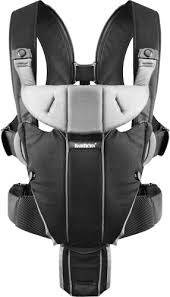 Рюкзак-кенгуру BabyBjorn Carrier Miracle (Black/Silver), фото 2