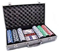 Покерный набор 300 фишек, без номинала