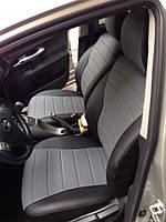 Чехлы на сиденья ВАЗ Лада 2110 (VAZ Lada 2110) (модельные, экокожа Аригон, отдельный подголовник)