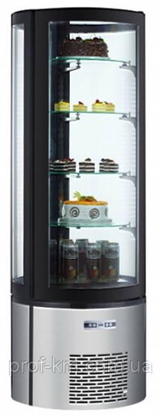 Витрина холодильная EWT INOX ARC400R (БН)