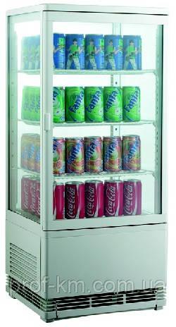 Шкаф-витрина холодильная EWT INOX RT78L (БН)