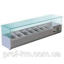 Витрина холодильная Forcar RI15033V (БН)