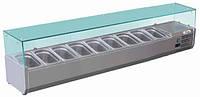 Витрина холодильная Forcar RI18033V (БН)