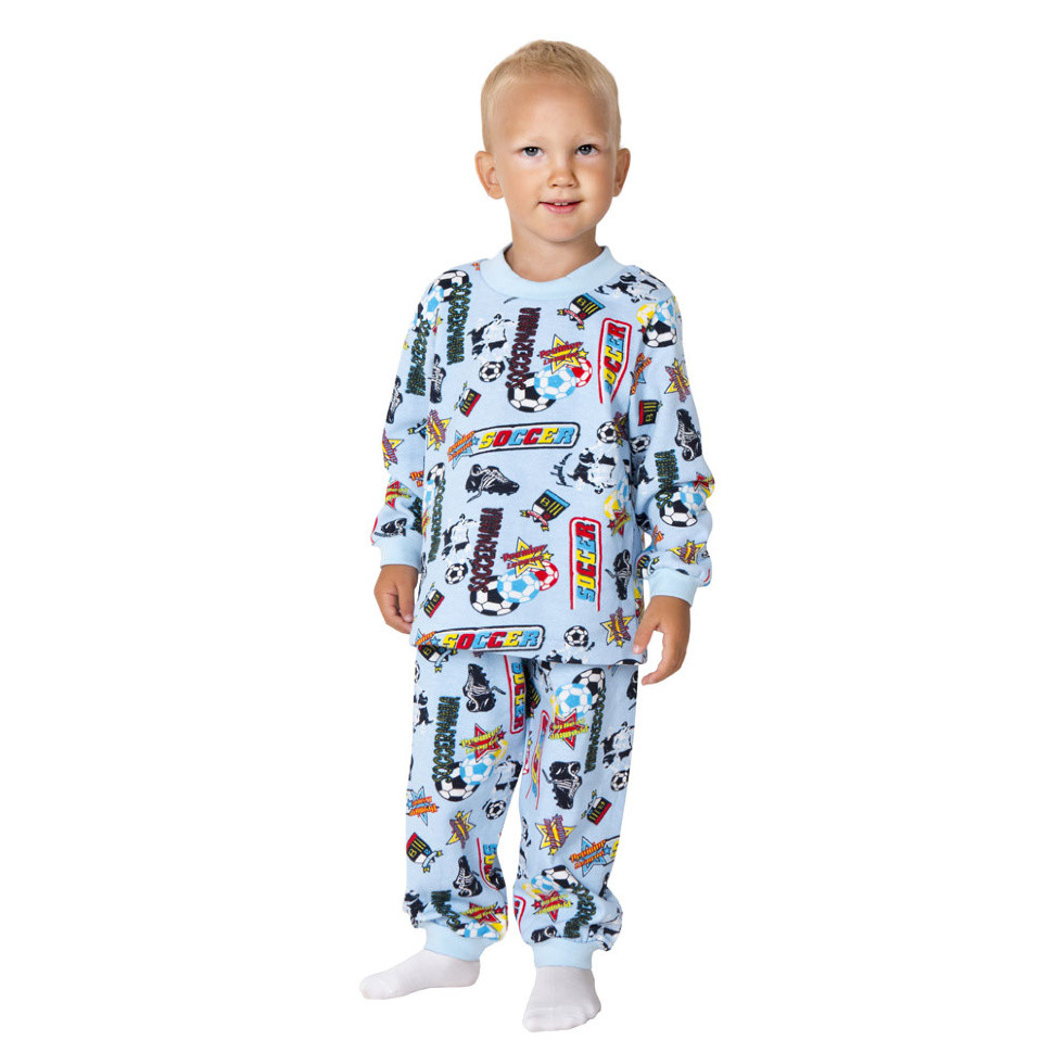 Детская пижама для мальчика «Тёплая-2»