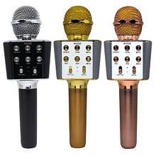Микрофон-Караоке WSTER WS-1688, беспроводной