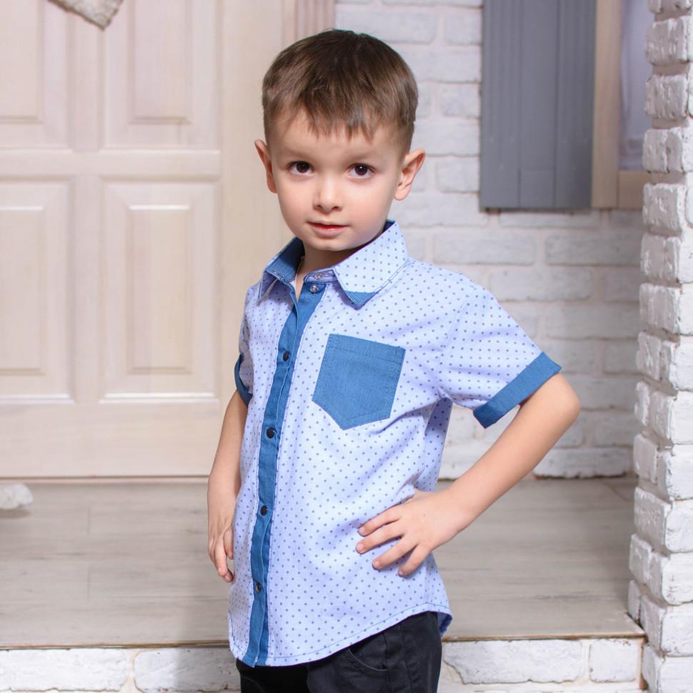 Детская рубашка для мальчика RB-3