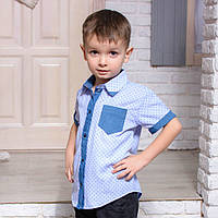 Детская рубашка для мальчика RB-3, фото 1