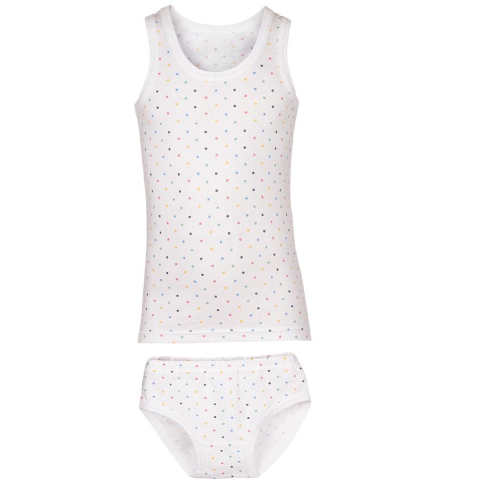 Детский комплект белья для девочки «Трусы + Майка»