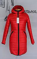 Демисезонное женское пальто плащевка 40-54 р-р, фото 1
