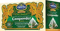 Чай TWISTEA Ganpowder (Ганпаудер) Крупнолистовий 20 пакетиків пірамідок по 2г (40г).