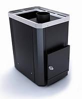 Печь дровяная банная каменка Новаслав Классик ПКС-02 БВ Ч (топка внутри)
