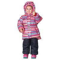 Детский костюм для девочки тёплый «Зимушка-1»