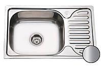 Кухонная мойка стальная Galati Mirela Satin 7135 нержавеющая сталь