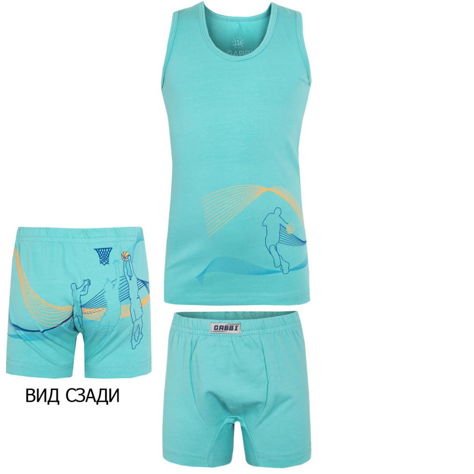 Детский комплект белья для мальчика «Темп»