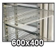 Полка Desmon PLASTIC COATED SHELF 600x400 (БН)
