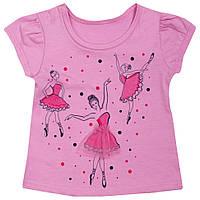 Детская футболка для девочки «Балерина», фото 1