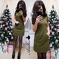 Платье из стрейч-трикотажа, размерs 42-44 и 44-46, фото 2
