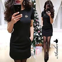 Платье из стрейч-трикотажа, размерs 42-44 и 44-46, фото 3